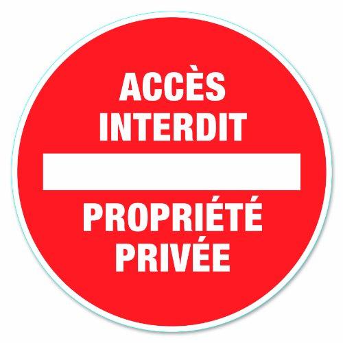 Chapuis DS11 Disque pvc adhésif D170 mm Propriété privée