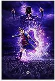Rompecabezas Adultos Niños Puzzle 300 Piezas Super estrella Lionel Messi, 300 Piece 15.7x11inch(40x28cm) Sin Marco