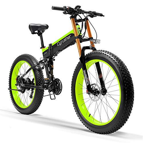 Extrbici Bicicleta Plegable eléctrica Fat-Bike Hombres