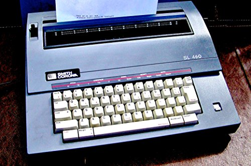 commercial Smith Corona SL460 Portable Adjustable Electric Typewriter used electric typewriter