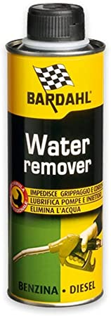 Bardahl Water Remover Additivi Elimina Acqua Nel Carburante Per Motori Benzina Diesel Da 300 Ml Auto