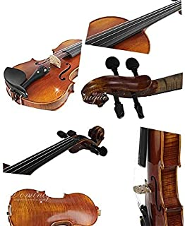 D Z Strad Violin Model LC101 Full Size 4/4 with case, shoulder rest, bow, and rosin