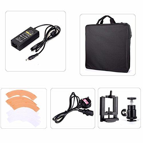 EACHSHOT ES240 Kit, Including Light, Stand, Mirror, Bag, Bracket} 18