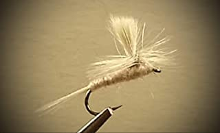 1 Dozen - Pale Morning Dun Parachute - Dry Fly - Trout Fly Fishing Flies Lures Strong Fish Hooks for Trout