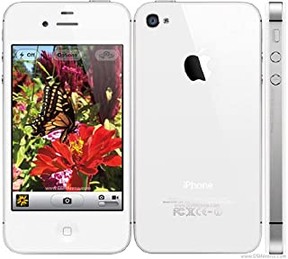 Original AppleiPhone Compatible Mobile Apple iPhone 4S 8GB 16GB 32GB 64GB White Black (White, 64GB)