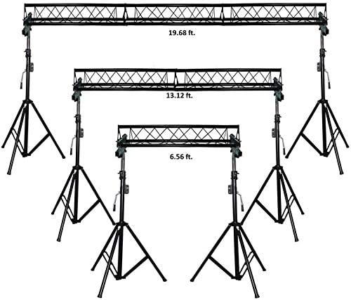 20 ft Wide Crank Triangular Trussing Mobile DJ Lighting Truss System Triangle product image