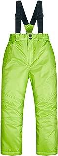 Little Boys Girl Kids Children's Outdoor Mountain Waterproof Windproof Ski Snow Snowboard Bib Pants Suspenders