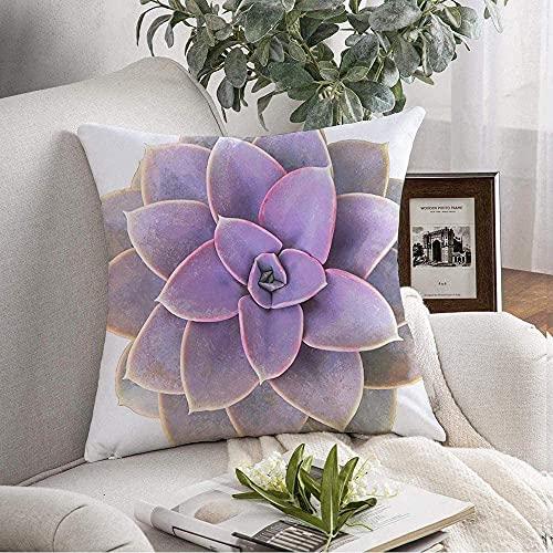 Dekorative Dekokissenbezug Weiche Blume...