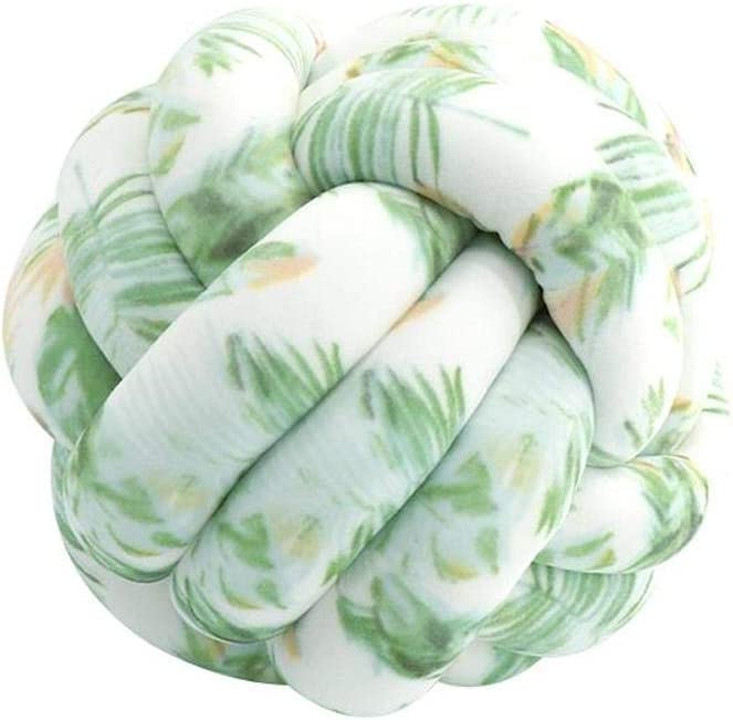 Trust FLORAVOGUE Knot Pillow Max 44% OFF Decorative Cushion - Room Couch Home Bed