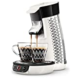 Philips HD6569/14 Senseo Viva Café Ethnic - Cafetera de dosis (incluye 2 tazas Ethnic), color blanco