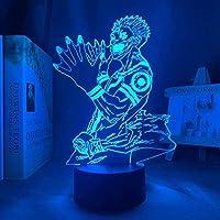 Tatapai 常夜灯日本のアニメ常夜灯アニメキャラクター主導の誕生日プレゼント常夜灯常夜灯寝室の装飾テーブルランプ子供のためのホリデーギフト
