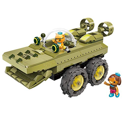 for Age 6+ Building Block Octonauts GUP-K Alligator Vehicle & kwazii shellington 330pcs Building Brick Set-Without Original Box