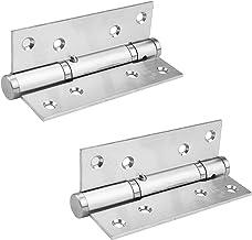 MidGard hydraulisch deurscharnier met kogellager, zelfsluitend, RVS scharnier 2 stuks Incl. Schroeven