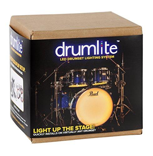Drumlite DLK2S Single LED Band Lighting Kit for Drums