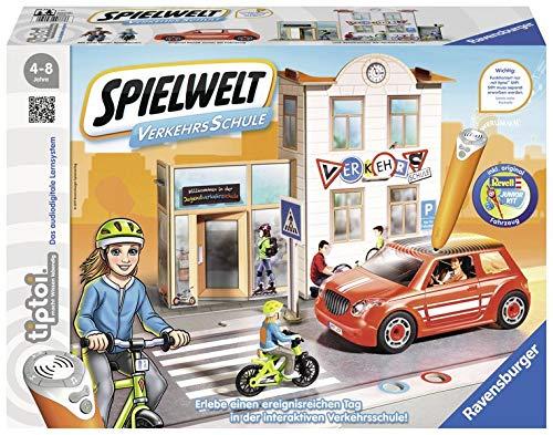 tiptoi® Spielwelt Verkehrsschule: Entdecke die interaktive Verkehrsschule und lerne alles über Sicherheit im Straßenverkehr
