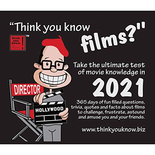 Think You Know Films Box Calendar 2021 (Plastic Free Box)