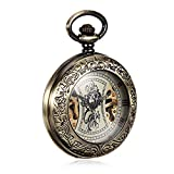Zoom IMG-2 zulux mechanical pocket watches numeri