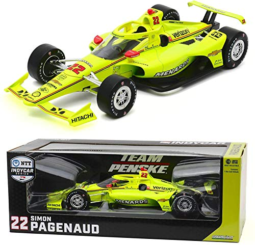 GreenLight 11087 2020#22 Simon Pagenaud/Team Penske, Menards IndyCar Diecast Car 1:18
