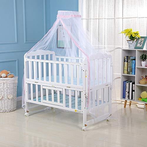 Handfly Mosquitera para Cuna de Cama de bebé - Cama de bebé para niños Canopy - Bebé - Mosquitera para Mosquitos de algodón - Ideal para cunas de Todos los tamaños