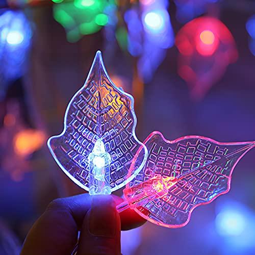 Cadena de luz de 20 LED, cadena de lámpara solar con 8 modos, lámpara de cuerda en forma de plomo, cadena de luz súper brillante