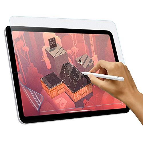 TiMOVO Matte Displayschutzfolie wie Papier Kompatibel mit iPad Air 4, New iPad Air 10.9 Inch 2020, iPad Pro 11 Inch 2018/2020, Anti Reflex Schutzfolie Displayschutz, Bereift