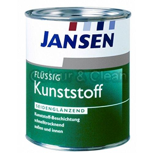 JANSEN Flüssig-Kunststoff 750ml Ral 7001 silbergrau