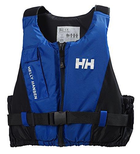 Helly Hansen Rider Vest Chaleco Salvavidas Unisex para navegación de Vela Ligera y Otras Actividades acuáticas, con certificación ISO y flotación cómoda, Hombre, Azul (Olimpo), 60/70