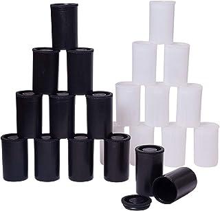 PandaHall Elite - 40 Pcs Boîte de Film Plastique Conteneurs de Perle Boîte de Rangement Organisateur de Bijoux Boîte Colon...