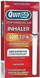 Inhalador de oxígeno para dejar de fumar filtro masticable de punta suave para...