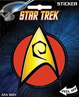 """ata-boy Star Trek Engineering Insignia 4""""フルカラーステッカー"""