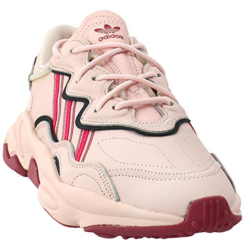Adidas Originals Ozweego - Scarpe casual da donna, Rosa (Rosa ghiaccio, rosa reale, marrone scuro.), 40.5 EU