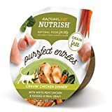 Rachael Ray Nutrish Purrfect Entrees Natural Wet Cat Food, Cravin' Chicken Dinner Recipe, 2.8 Ounce...