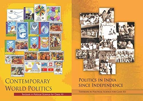 COMBO PACK FOR POLITICAL SCIENCE NCERT BOOK IN CLASS-XII (12th)( CONTEMPORARY WORLD POLITICS, POLITICS IN INDIA SINCE INDEPENDENCE) ,Set of two Books [Paperback] NCERT