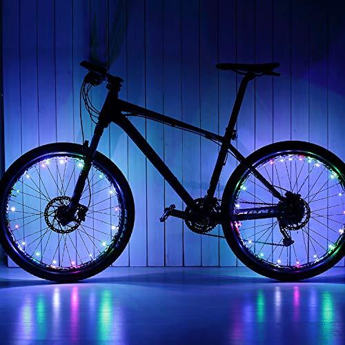 Geschenke Jungen 5-18 Jahre, Fahrrad Rad Licht Fahrrad Lichter Led Set Fahrradlicht Kinder Spielzeuge ab 5-12 Jahren für Jungen