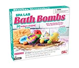 SUPERCHARGE YOUR BATH WITH SCIENCE: This DIY bath bomb kit and Illustrated activity book offer hands-on explorations of basic science concepts, including acids and bases, carbonate reactions, measurement, proportions, and skin care ELEVEN-PIECE KIT I...