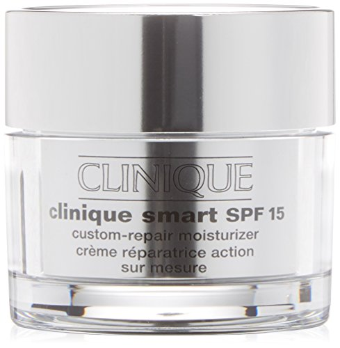 Clinique Crema Antirughe, Smart, SPF 15 Custom-Repair...