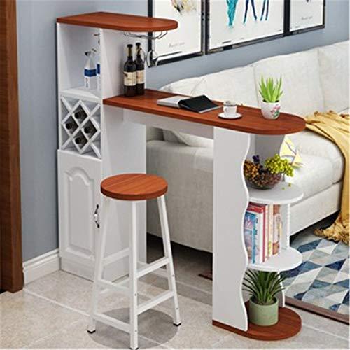 Mesa de barras Gabinete de partición contra la mesa de la barra de la pared Casa pequeña simple moderna moderna gabinete de estar de la sala de estar del restaurante del restaurante Mesa de comedor de