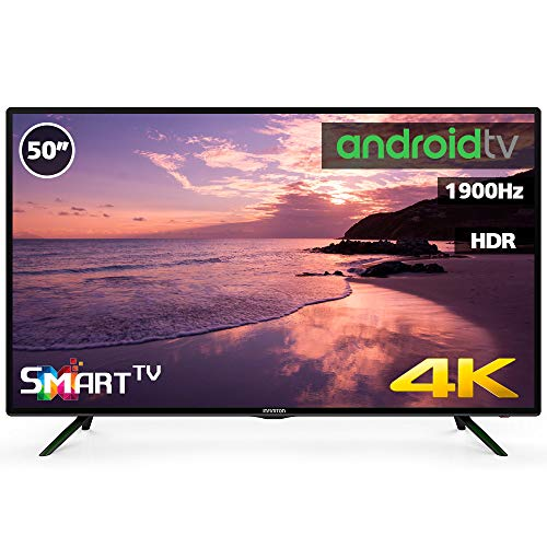 Television LED 50' 4K INFINITON Smart TV-Android TV (TDT2, HDMI, VGA, USB) (50 Pulgadas)