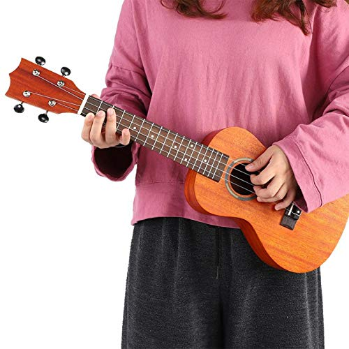 Ukelele pratico in legno leggero per chitarra Hawaii da 23 '' per adulti