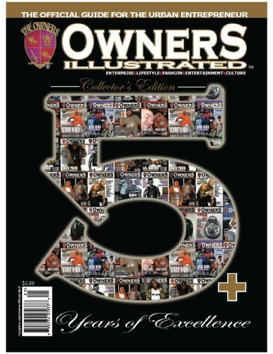 Owners Illustrated Magazine 5th Anniversary (English Edition)