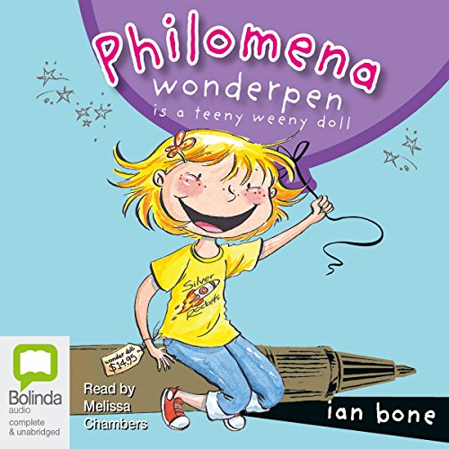 Philomena Wonderpen audiobook cover art