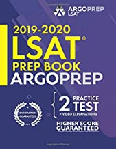 LSAT Prep Book 2019-2020 by ArgoPrep: Premium LSAT Prep + 14 Days Online Resources Included + Videos + Strategies + Practice Tests.