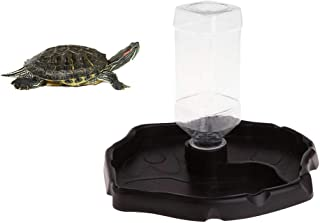 POPETPOP Reptile Water Dozownik wody gadów automatyczny dozownik wody żółw jaszczurka żółw z butelką