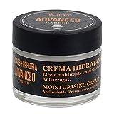 Tahe Advanced Barber Crema Hidratante Facial Nº 403 Euphoria para Hombre, 50 ml