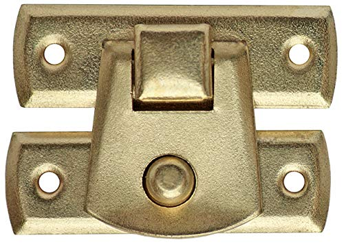 10 Schatullen Schatullenverschluß Kistenverschluss Etui-Verschluss Vermessingt