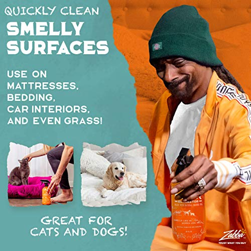 ANGRY ORANGE 24 oz Ready-to-Use Citrus Pet Odor Eliminator Pet Spray - Urine Remover and Carpet Deodorizer for Dogs and Cats