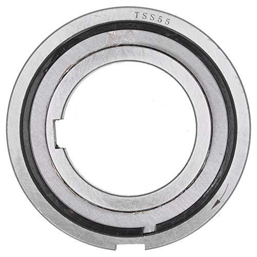 Embrague de cojinete unidireccional, embrague de cojinete unidireccional fuerte rigidez con llave interna TSS55 (55x100x21) suministros industriales
