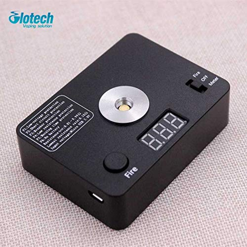 Glotech Digital coil Resistance Tester Ohm Meter Reader Wire Coil DIY Tool For Coils Building