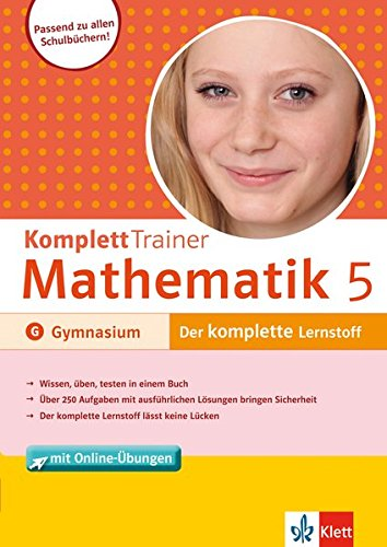 Klett Komplett Trainer Mathematik Gymnasium Klasse 5