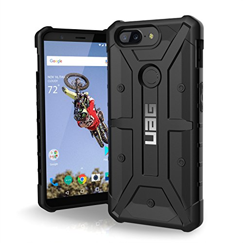 URBAN Armor Gear UAG OnePlus 5T Pathfinder Feather-Light Rugged [Black] Military Drop Tested Phone Case
